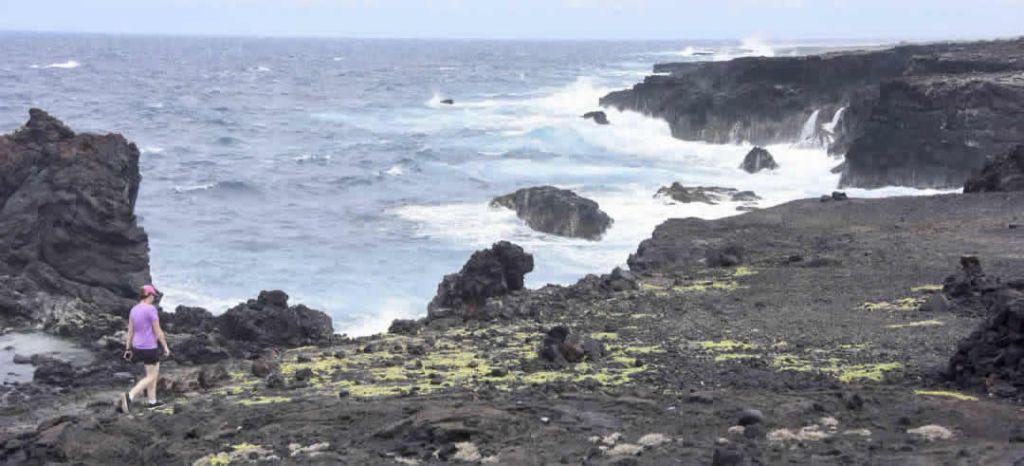 Bethany Morrison explores the coasts of Kaʻū