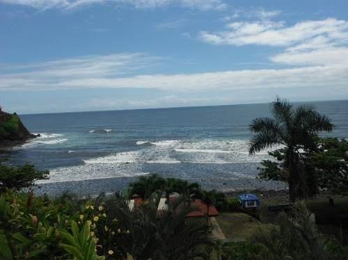 A Hawaiian coastline
